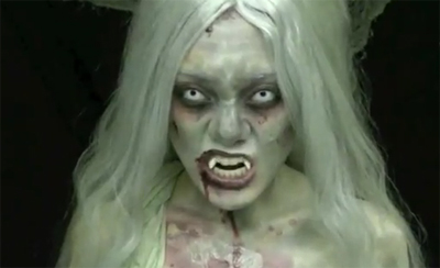 Tutorials on Left 4 Dead  The Witch     A Horror Makeup Tutorial   Zombies