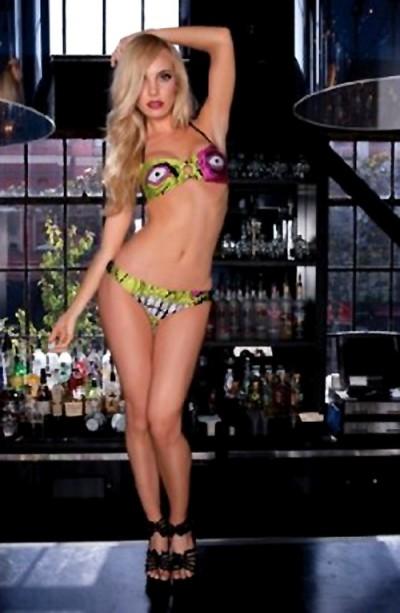 Zombie Bikini by Iron Fist