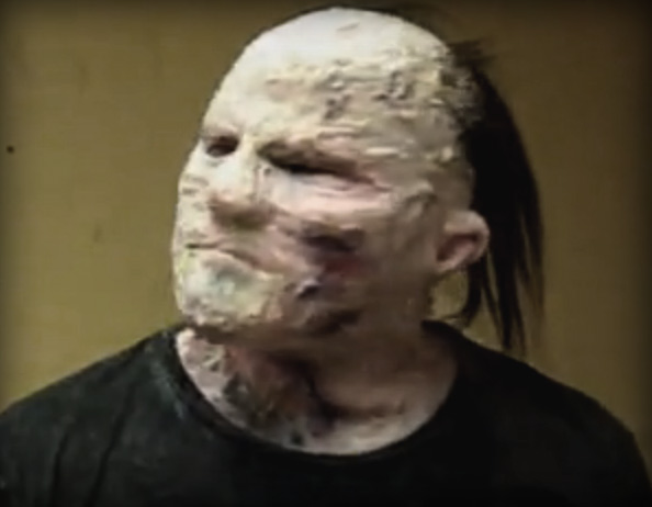 How to create a realistic silicone zombie mask