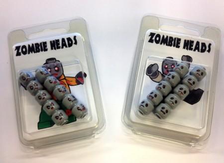 Zombie LEGO Heads
