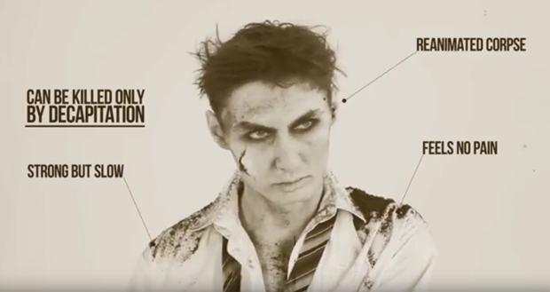 100 Years Of Zombie Evolution In Pop Culture Time Lapse