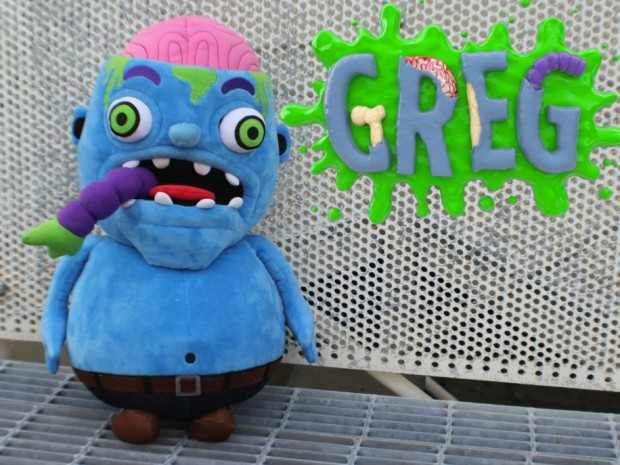 Greg the Zombie Plush