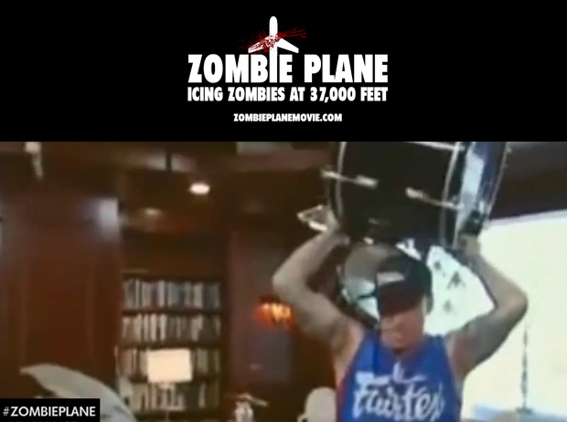 Zombie Plane Pitch Trailer with Vanilla Ice